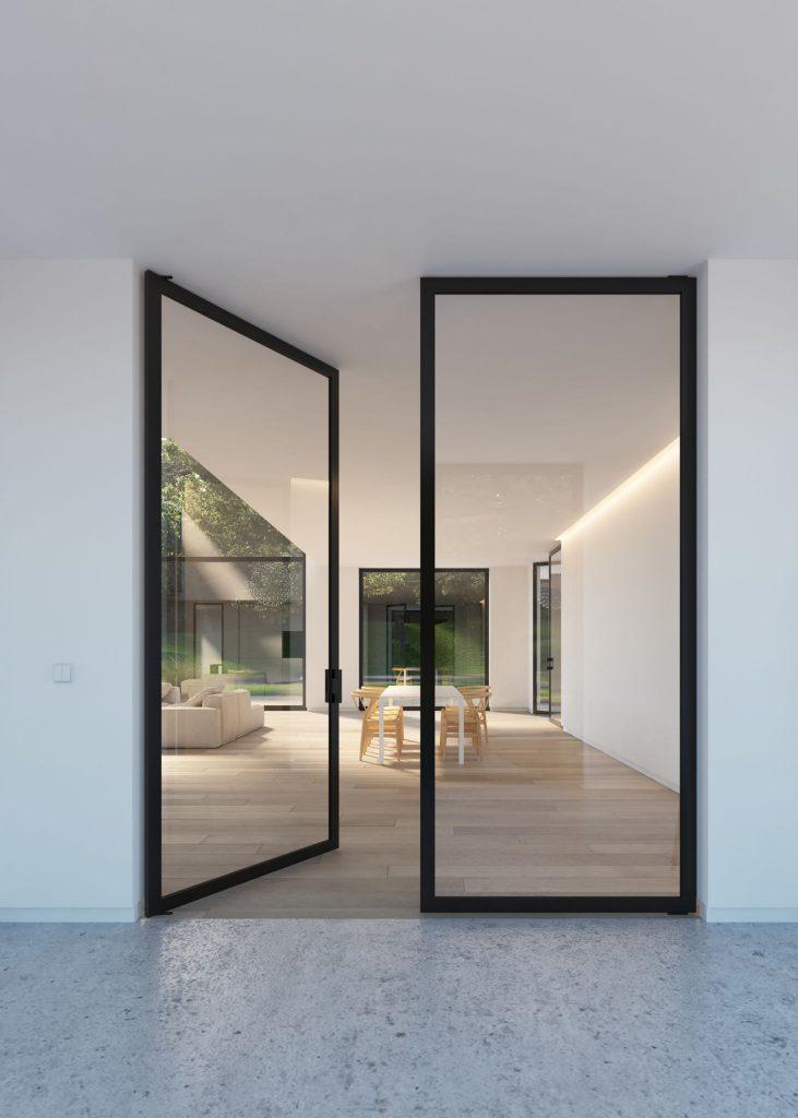 Стъклени врати за дома